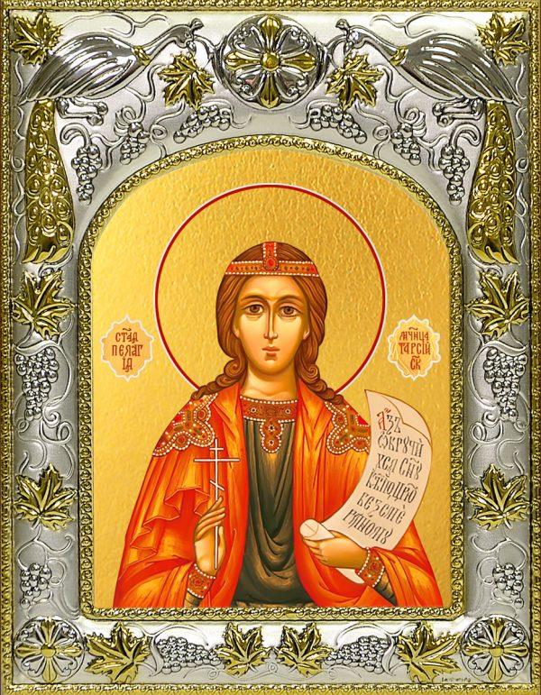 купить икону святая Пелагия Тарсийская