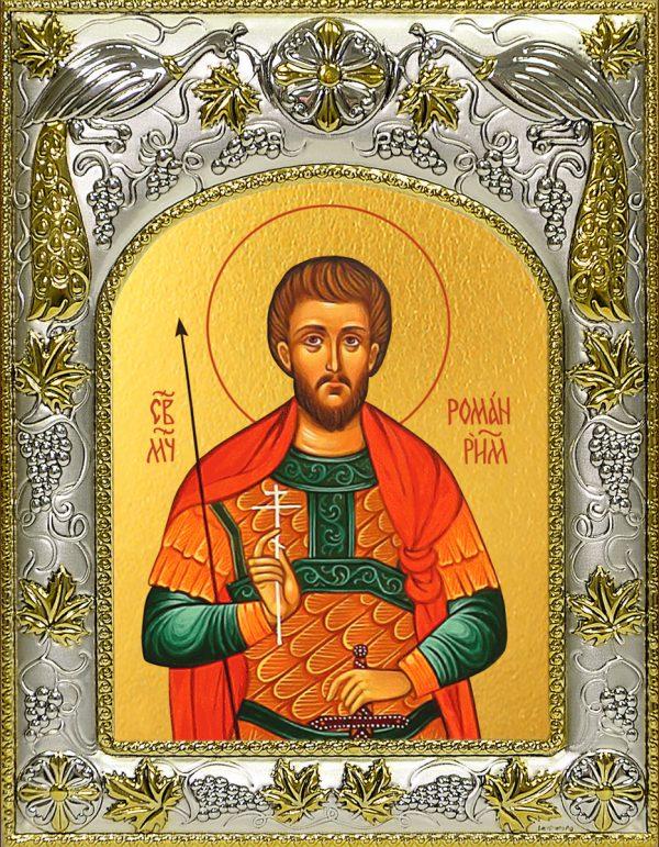 купить икону святой Роман Римский