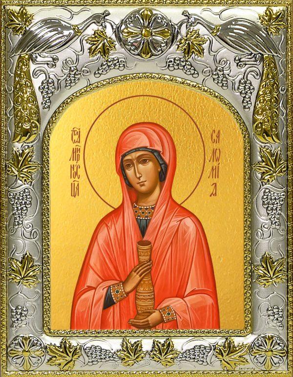 купить икону святая Саломия мироносица
