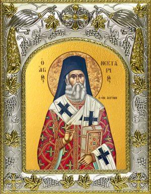 купить икону святой Нектарий Эгинский