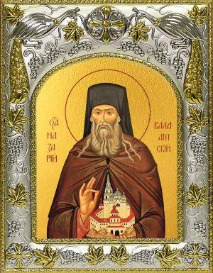 купить икону святой Назарий Валаамский
