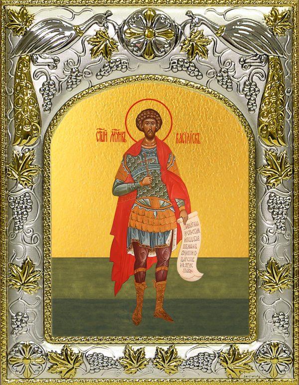 купить икону святой Василиск Команский