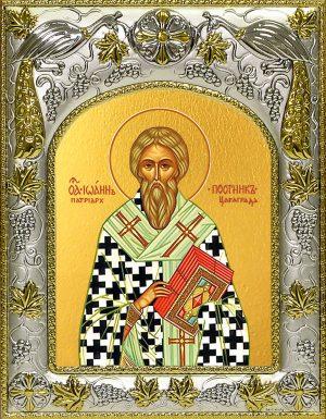 купить икону святой Иоанн Постник, патриарх Константинопольский