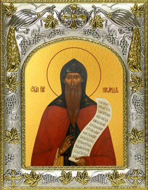 купить икону святой Никандр Псковский, пустынник