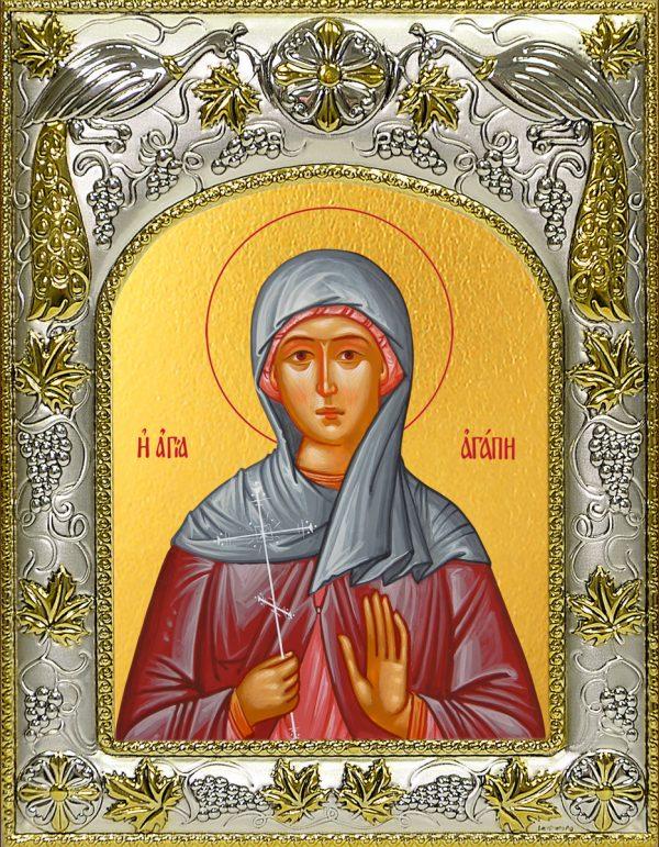 купить икону Агапия Аквилейская