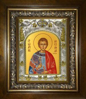 купить икону святого Александр Римский