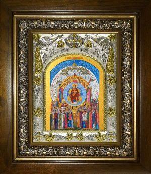 купить икону Божьей Матери О Тебе радуется.