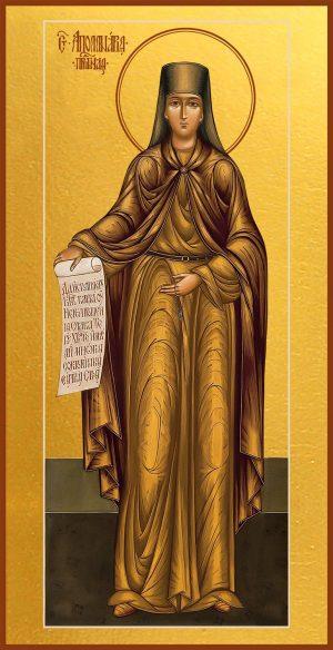 купить икону святой Аполлинарии преподобной