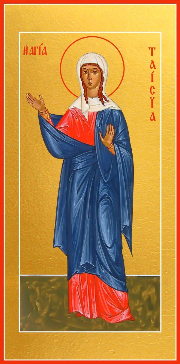 купить икону святой Таисии Египетской преподобной