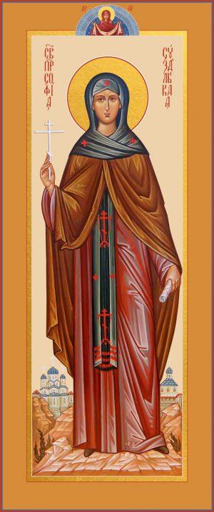 купить икону святой Софии Суздальской