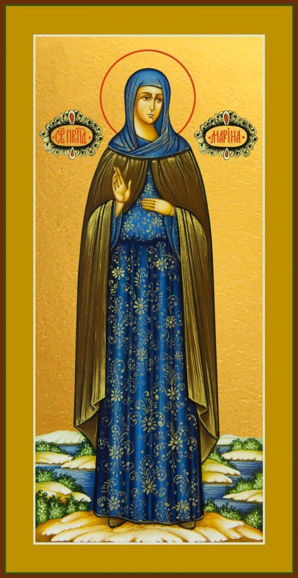 купить икону святой Марины Берийской (Македонской) преподобной, девы