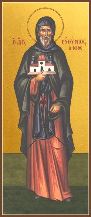 купить икону святого Евфимия Нового