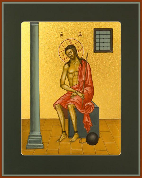 купить икону Спаситель в темнице