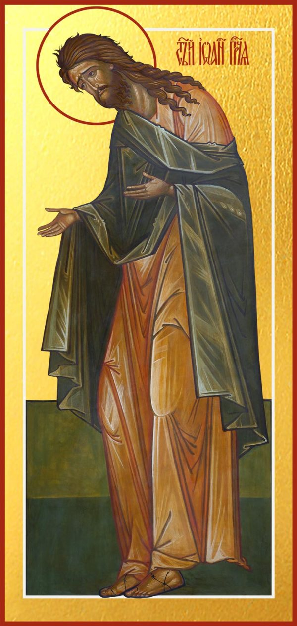 купить икону Иоанна Предтечи Крестителя Господня
