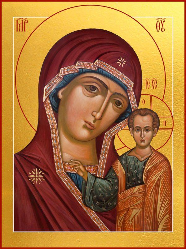 приобрести икону Казанская икона Божией Матери