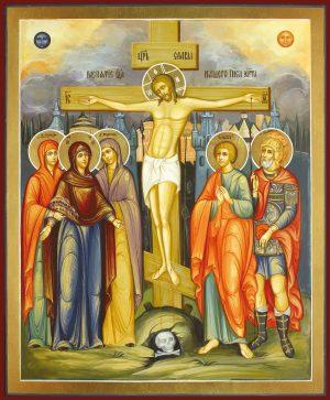 купить икону Распятие Господа нашего Иисуса Христа