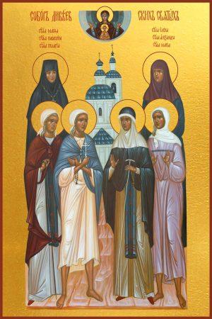 купить икону Собор Дивеевских святых
