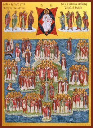 купить икону Собор Британских и Ирландских святых
