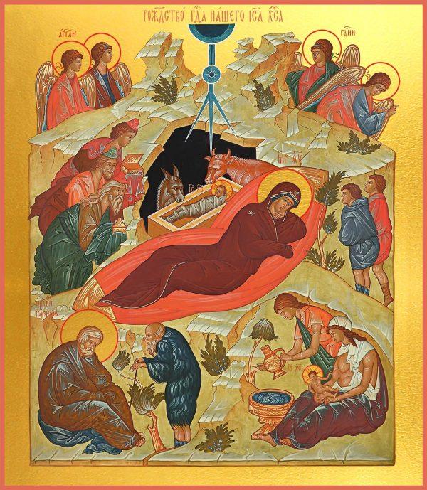 купить икону Рождество Христово