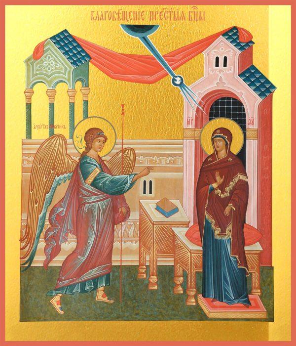 купить Икону Благовещение Пресвятой Богородицы