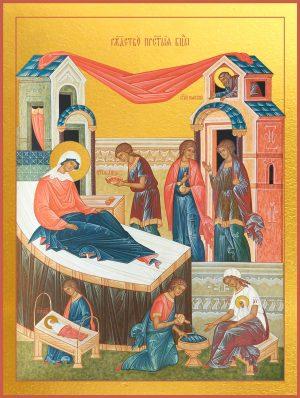 купить икону Рождество Богородиц