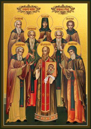 купить икону Череповецкие Святые