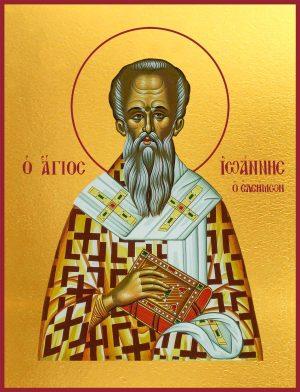 икону Иоанн Милостивый Патриарх Александрийский святитель