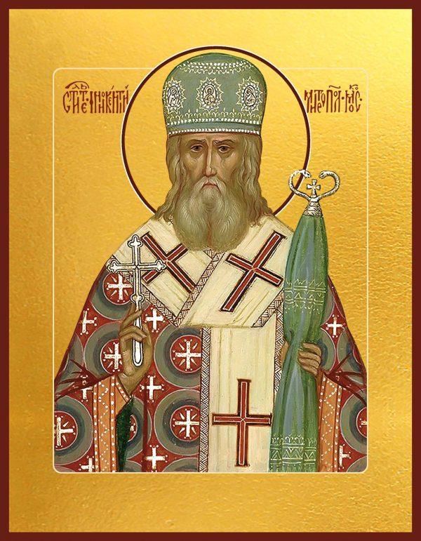 купить икону Иннокентий, митрополит Московский, святитель