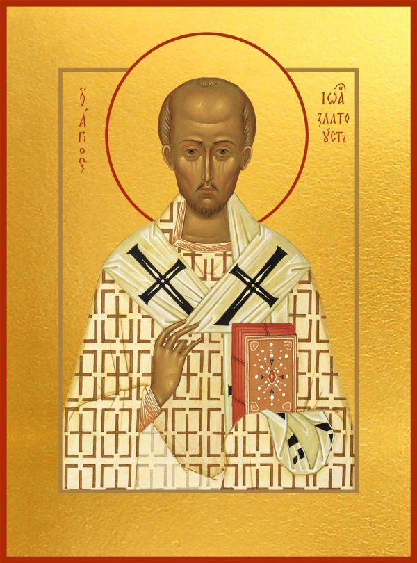 купить икону святого святителя Иоанна Златоуста