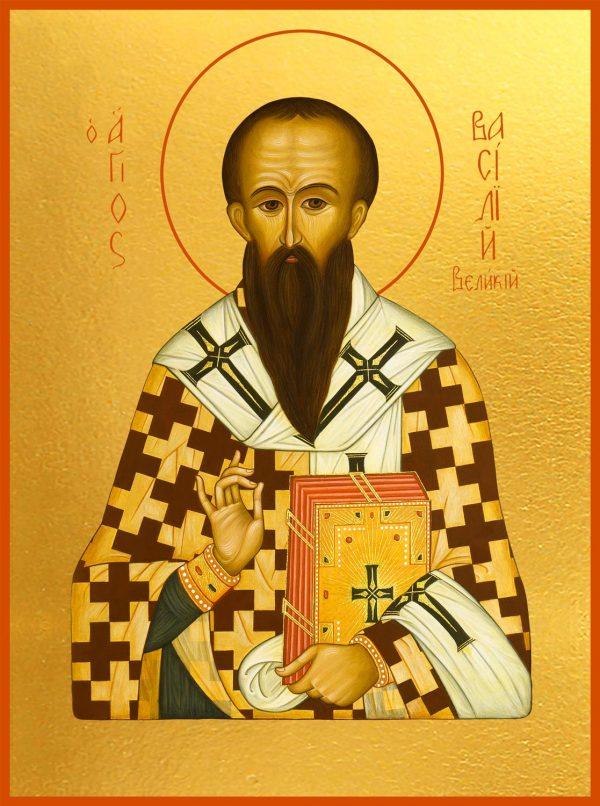 купить икону Василия Великого