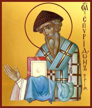 купить икону Святителя Спиридона Тримифутского
