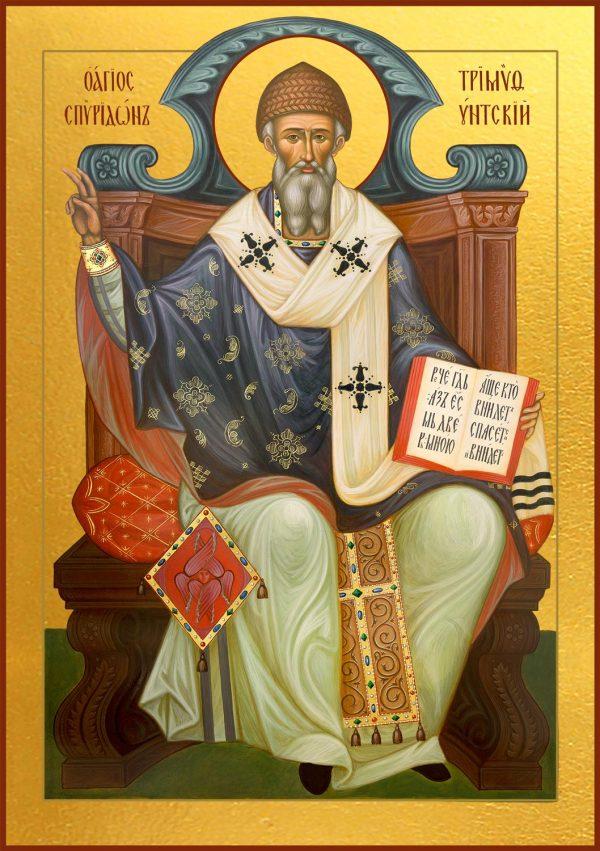 купить икону Святителя Спиридона