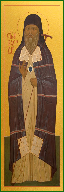 купить икону Святого Василия, епископа Рязанского и Муромского, святителя