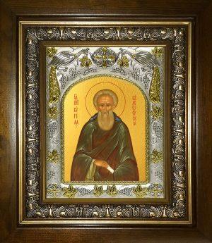 купить икону святой Кирилл Белоезерский