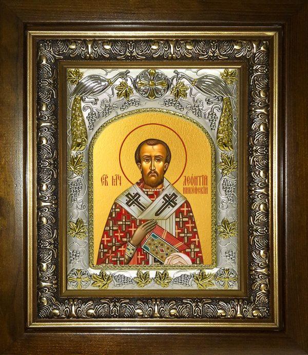 купить икону святой Леонтий (Леон) Никейский