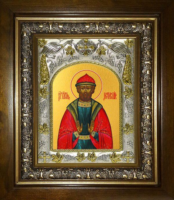 купить икону святой Ростислав Смоленский