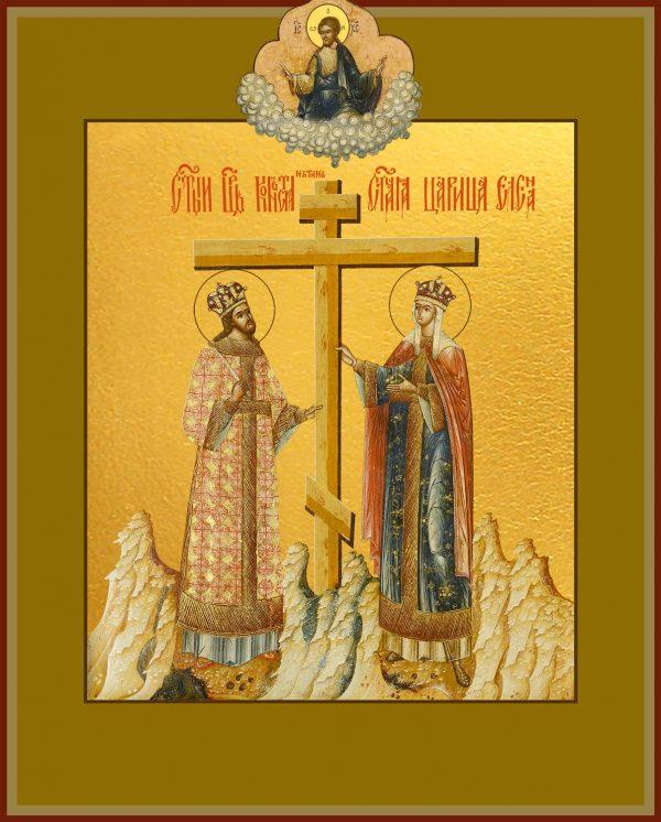 купить икону Константина и Елены равноапостольных