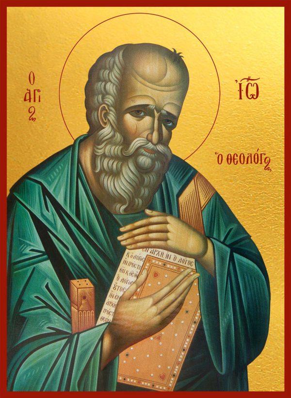 купить икону апостола Иоанна Богослова