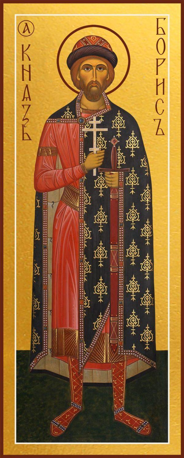 Купить икону князя Бориса благоверного