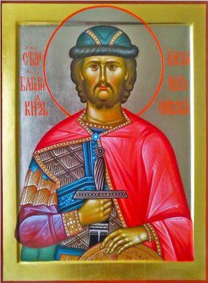 Купить писаную икону Александра Невского