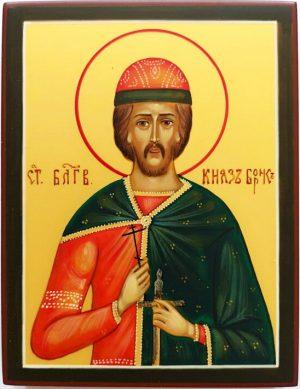 купить писаную икону князя Бориса