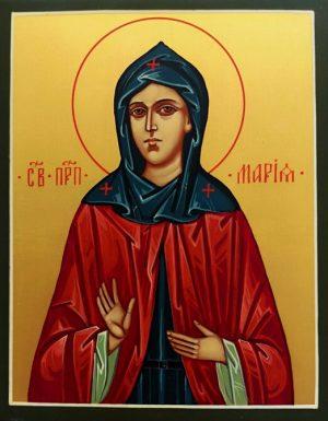 купить писаную икону Марии Константинопольской