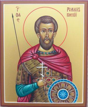 купить писаную икону Романа Римского