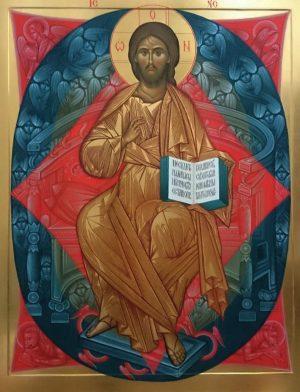 купить писаную икону Спас в Силах