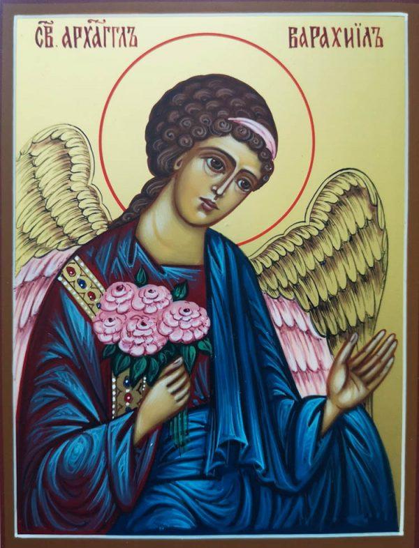 купить писаную икону Варахиила архангела