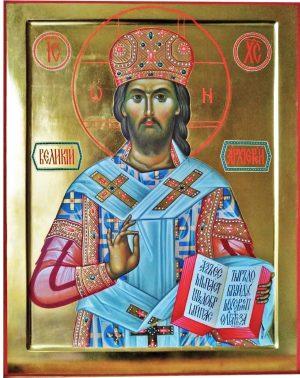 купить писаную икону Великий Архиерей