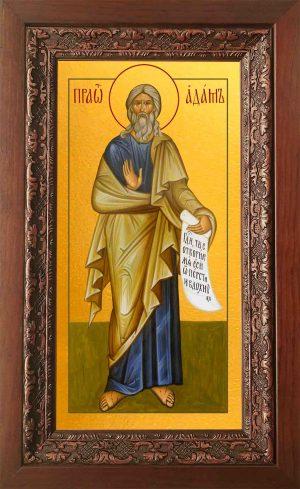 Купить икону Адама в киоте