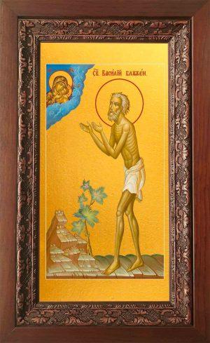 купить икону Василия Блаженного в православном интернет магазине