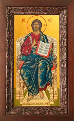 Купить икону в киоте Господа Вседержителя