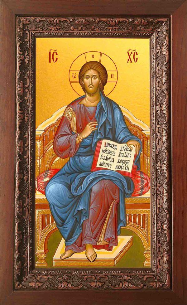 Купить икону в киоте Иисуса Христа